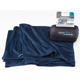 Cocoon Travel Blanket CoolMax, navy